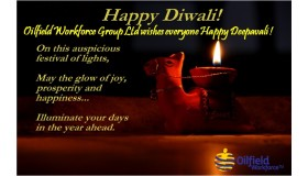Oilfield Workforce Group Limited wishes everyone Happy Deepavali !
